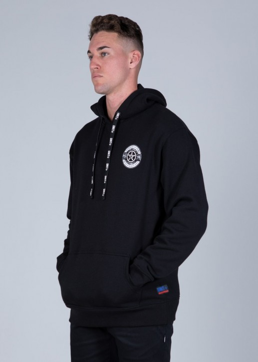 UNIT - SPOKE HOODIE BLACK