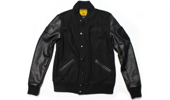 MACBETH - VARSITY JACKET BLACK / BLACK