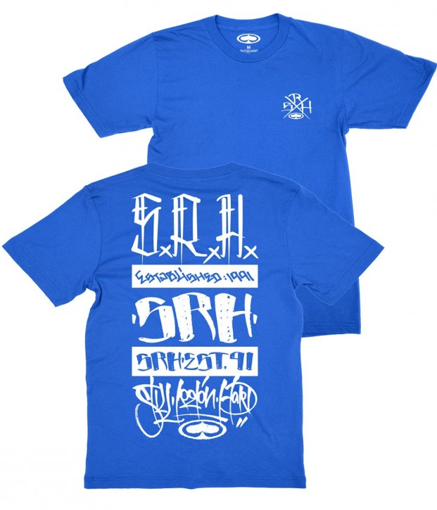 SRH - HIT UP SHIRT BLUE