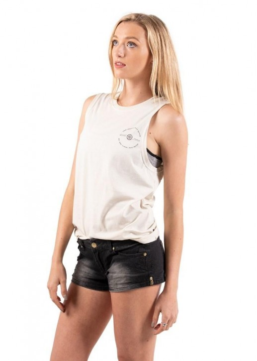 UNIT - CHECK LADIES MUSCLE TEE