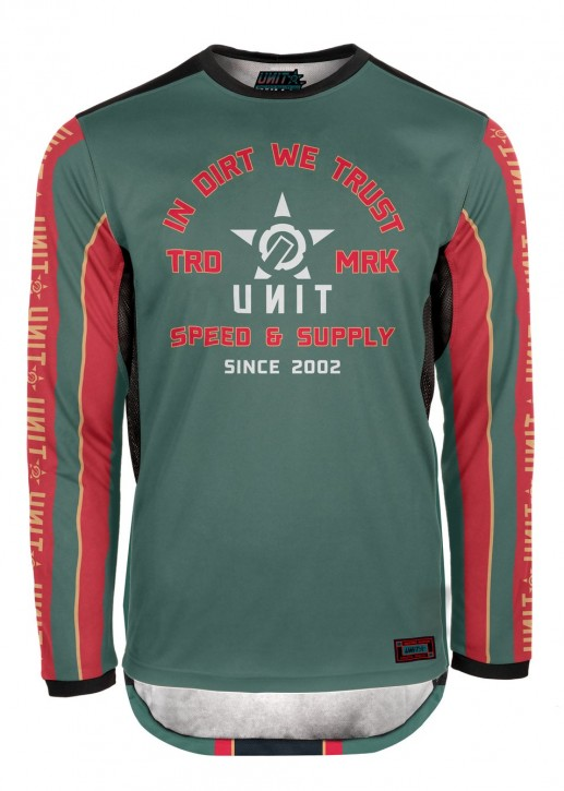 UNIT - LUXO MX JERSEY GREEN