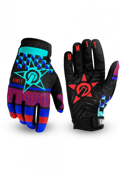 UNIT - MIRAGE MENS GLOVES BLUE