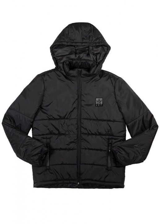 UNIT - RAIDER PUFF JACKET BLACK