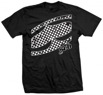 SRH - CHECKED OUT TEE BLACK