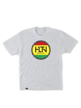 HLTN - REBEL SEAL TEE WHITE