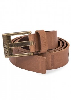 UNIT - COLT LEATHER BELT BROWN L/X
