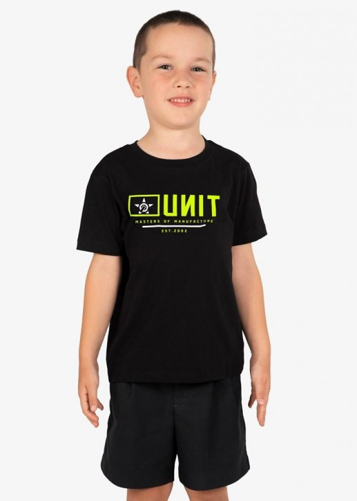 UNIT - GRITT YOUTH TEE BLACK