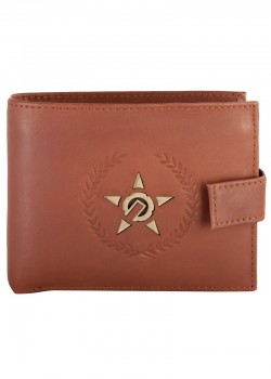 UNIT - CONTENDER LEATHER WALLET BROWN ONE SIZE