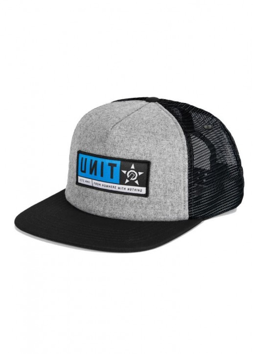 UNIT - STANZA TRUCKER CAP GREY