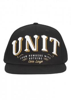 UNIT - RIGGED SNAPBACK CAP BLACK