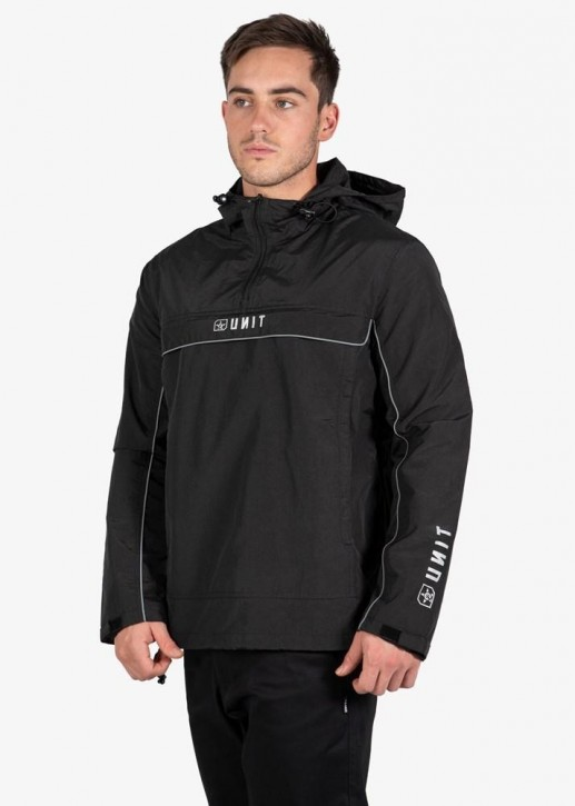 UNIT - SPRAY TERRAIN JACKET BLACK