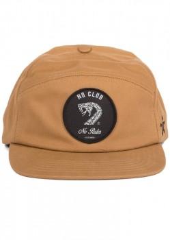 UNIT - NO CLUB NO RULES 6 PANEL CAP TOBACCO