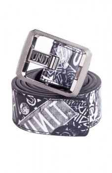 UNIT - BADGED REVO BELT GREYSCALE