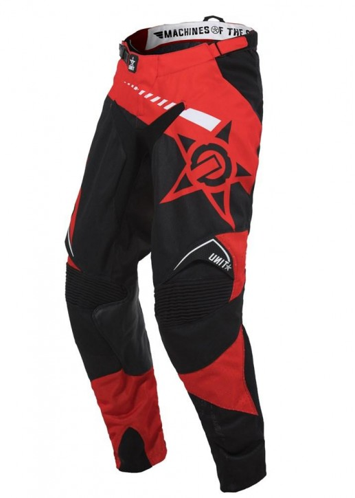 UNIT - CHASER MX PANTS RED