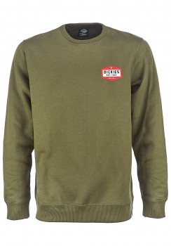 DICKIES - HARBOURCREEK SWEATSHIRT OLIVE GREEN