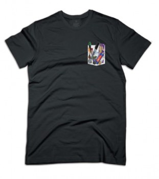 UNIT - WHATS IN YOUR POCKET TEE BLACK