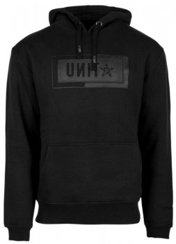 UNIT - INTERLOCK HOODY BLACK