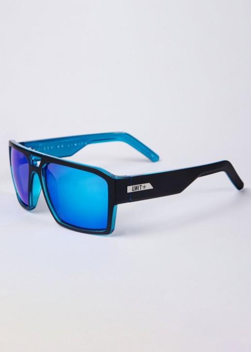 UNIT - VAULT SUNNIES MATTE BLACK/BLUE
