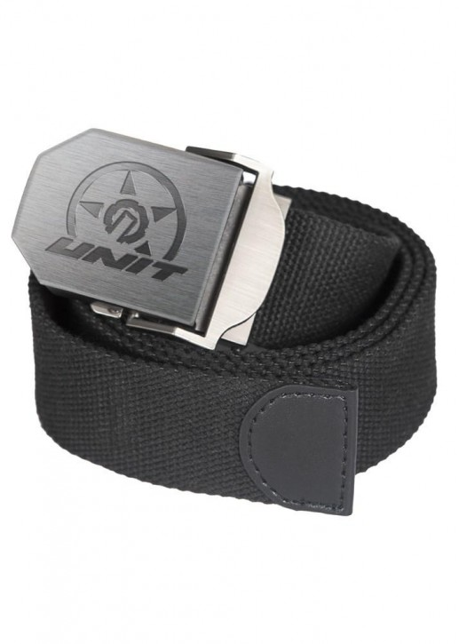 UNIT - HITCH WEBBING BELT BLACK