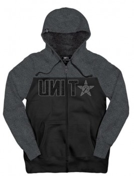 UNIT - KINETIC HOODY BLACK