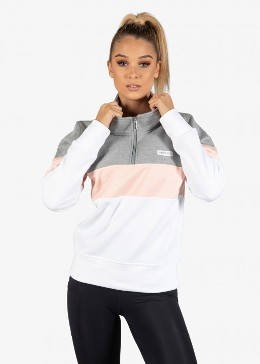 UNIT - LACEY LADIES SWEATER WHITE