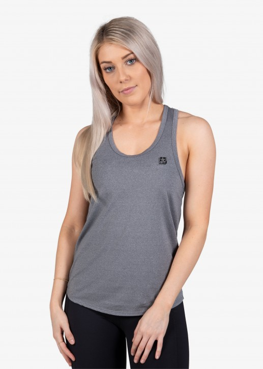 UNIT - PRO FLEX LADIES SINGLET GREY