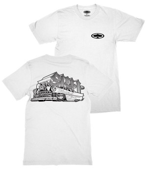 SRH - HOT ROD SHIRT WHITE