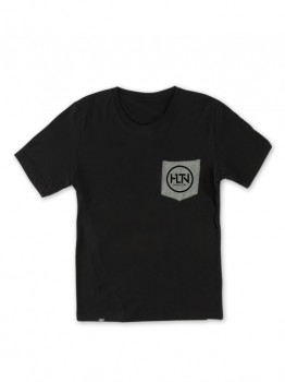 HLTN - CORPO POCKET TEE BLACK/GREY