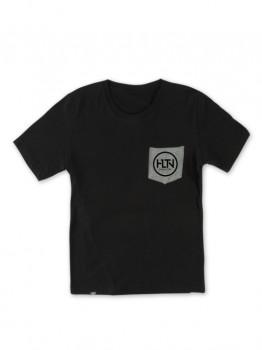 HLTN - CORPO POCKET TEE BLACK/GREY