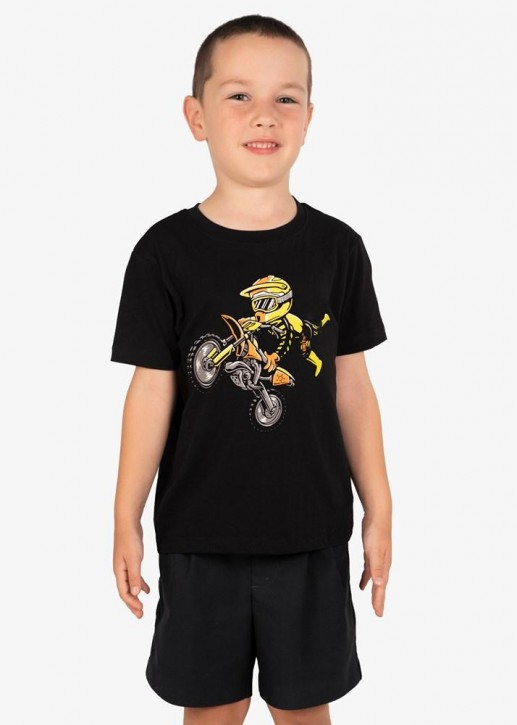 UNIT - HAZARD KIDS TEE BLACK