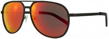 FILTRATE - MP BLACK/RED MIRROR LENS