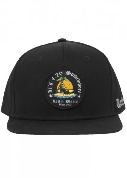 UNIT - 4.20 SNAPBACK CAP BLACK