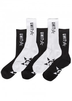 UNIT - HI LUX SOCKS 5 PACK MULTI 11-14