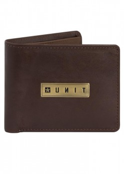 UNIT - GATES LEATHER WALLET BROWN