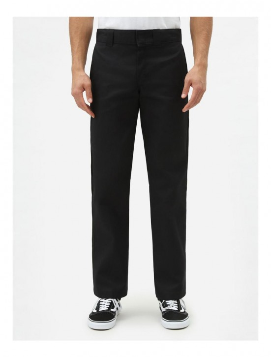 DICKIES - SLIM STRAIGHT WORK PANT BLACK