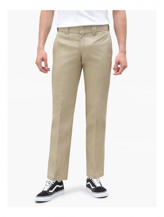 DICKIES - SLIM STRAIGHT WORK PANT KHAKI