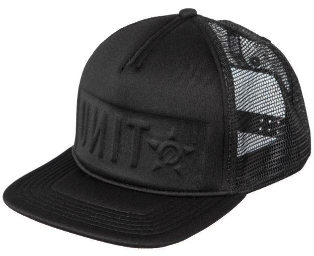 UNIT - DRIFTER TRUCKER CAP BLACK ONE SIZE