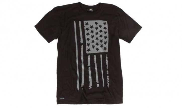 MACBETH - FLAG TEE BLACK
