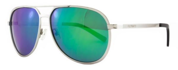 FILTRATE - MP SILVER/GREEN MIRROR LENS
