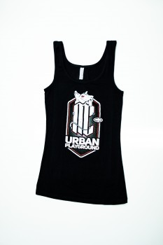 MINDCOLLISION - URBAN PLAYGROUND GIRLS TANK BLACK