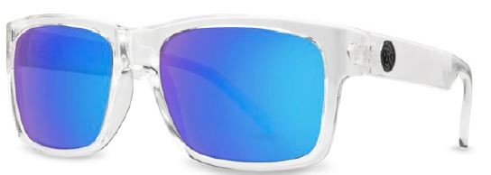 FILTRATE - JOHN BROWN GLOSS CLEAR/BLUE MIRROR POLARIZED ONE SIZE