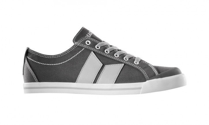 MACBETH - ELIOT MEDIUM GREY-DARK GREY CLASSIC CANVAS SHOE