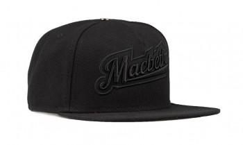MACBETH - COLLEGIATE SNAPBACK BLACK