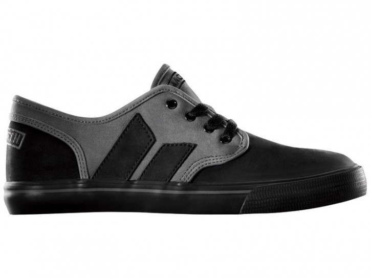 MACBETH - LANGLEY BLACK-DARK GREY SUEDE/OILED NUBUCK