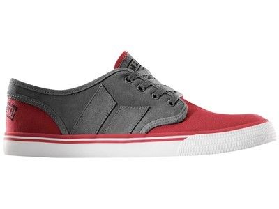MACBETH - LANGLEY DARK GREY/MUTED RED