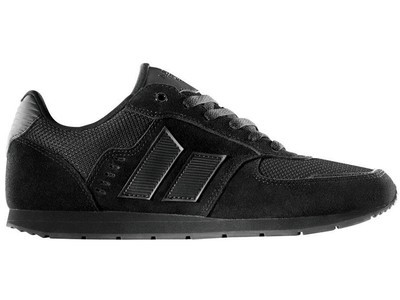 MACBETH - FISCHER BLACK-BLACK SUEDE/MESH SHOE