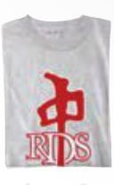 RED DRAGON - OG TEE HEATHER GREY/RED