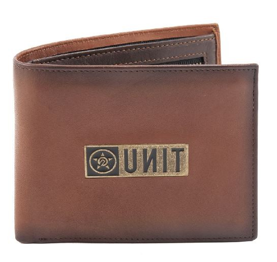 UNIT - RESET DELUXE WALLET CHOCOLATE ONE SIZE