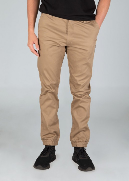 UNIT - ROCKBOTTOM CUFFED PANT KHAKI