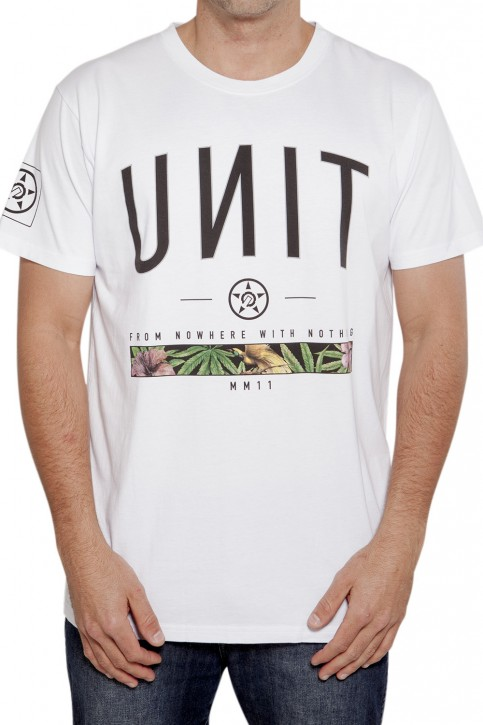 UNIT - SPAN 141 TEE WHITE